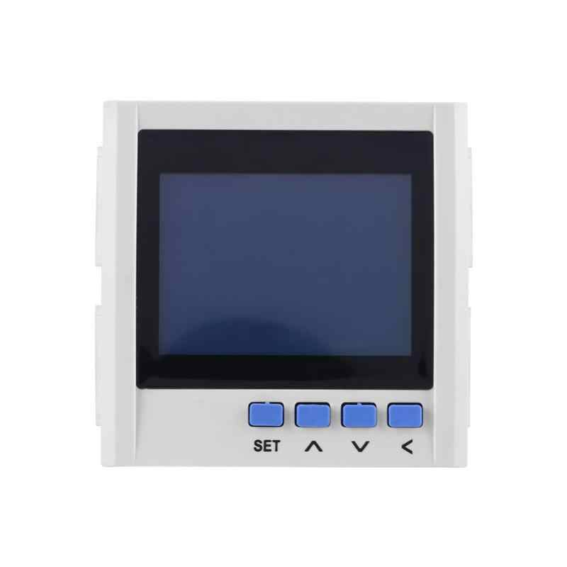 متعددة الوظائف 3 مراحل الكهربائية الحالي الجهد تردد الطاقة مقياس الطاقة V A Hz كيلووات ساعة RS485 الطاقة مقياس الطاقة s الأزياء الساخن