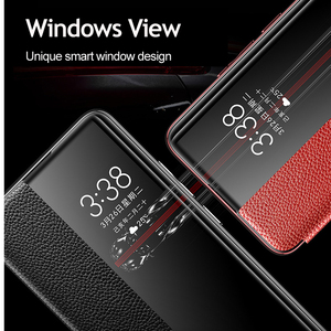 Image 3 - Huawei P30 Pro ของแท้หนังกรณี Vpower หรูหราหนัง Flip สำหรับ Huawei P30/P30 Pro โทรศัพท์ครอบคลุม