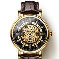Мужские часы Tourbillon  часы японского бренда Miyota  автоматические механические скелетоны LOBINNI  reloj hombre  L9010-2