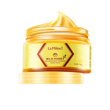 HTHL-Milk Honey Hand Mask Hand Care Moisturizing Whitening Skin Care E
