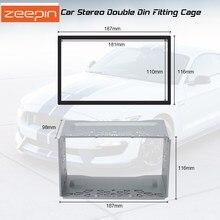 Универсальный 2din автомобильный DVD плеер монтажный комплект головной узел крепления корпуса для VW PASSAT B5 MK5 2001-2005 для Volkswagen GOLF VII(2004-2009 поло