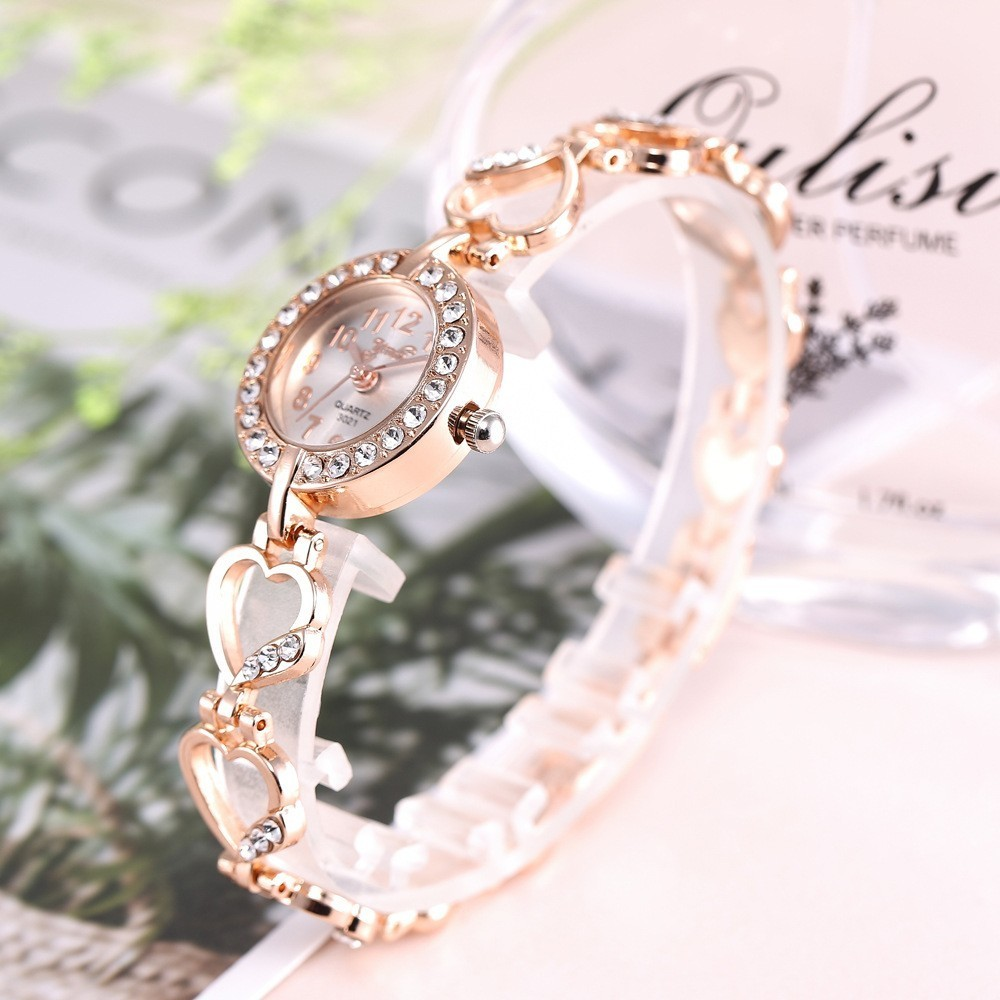 2020 Brand Luxury Bracelet Watch Women Watches Rose Gold Women s Watches Diamond Ladies Watch Clock