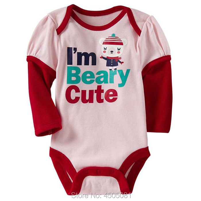 New 2019 High Quality Cotton Branded Bebe Newborn Baby Girl Clothing Clothes Jumpsuit Creepers Bodysuits Baby Girls Bodysuits
