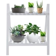 Wood Flower Stand Solid Wood Living Room Flower Pot Book Stand Diaplay Shelf Rack Garden Decoration new Year