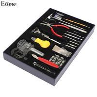 FANALA 155Pcs/Set Watch Tools Watch Opener Remover Spring Bar Repair Pry Screwdriver Clock Watch Repair Tool Kit Watchmaker Tool