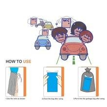 10 шт 600 мл гигиенический пакет для автомобиля мешок мочи пакеты при укачивании мини-Туалет мобильные туалеты удобный Для мужчин и Для женщин использования на открытом воздухе