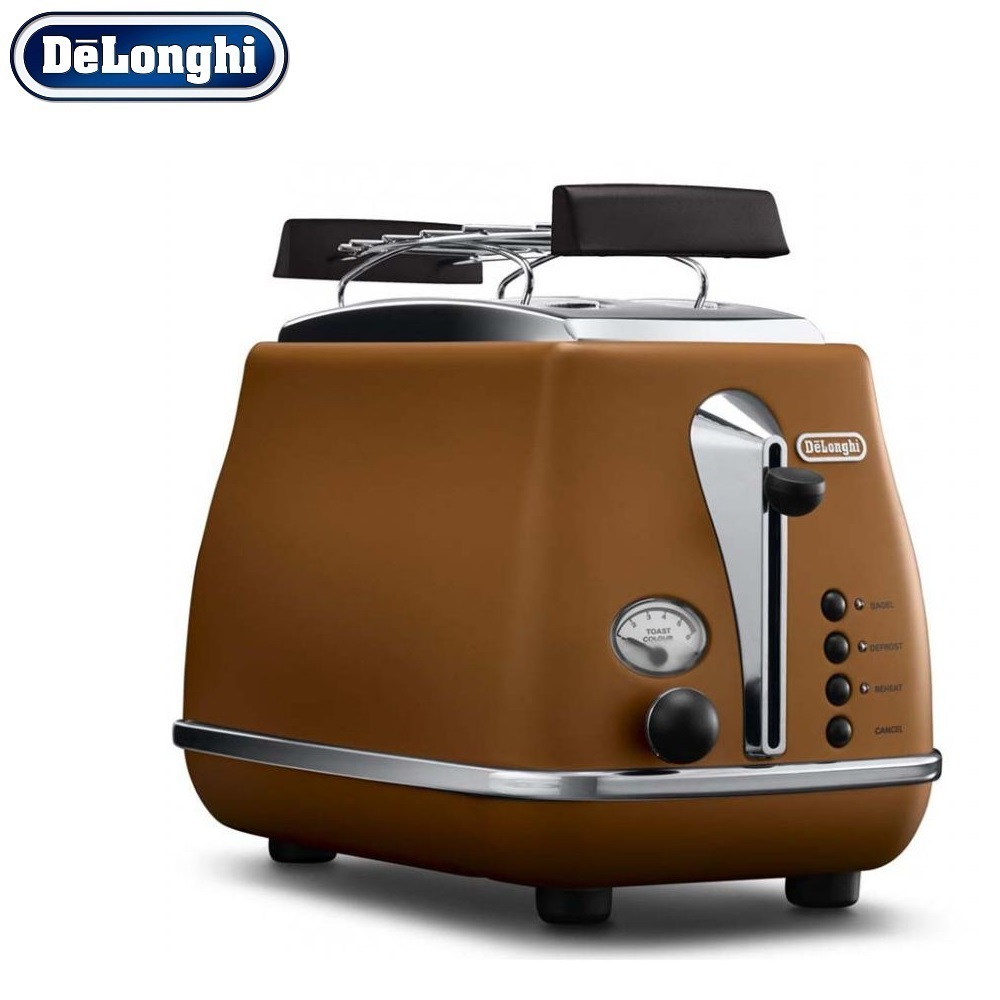 лучшая цена Toasters Delonghi CTOV 2103.BW home kitchen appliances cooking toaster fry bread to make toasts