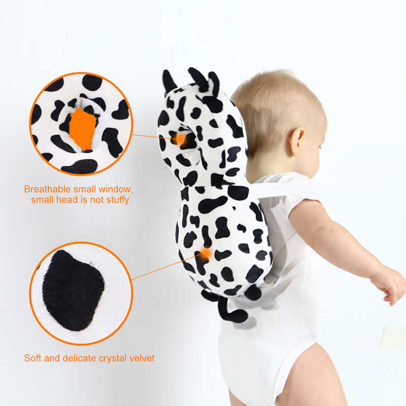 Baby Head Protection Pad Toddler Headrest Pillow Baby Neck Cute Wings Nursing Walk Drop Resistance Cushion Baby Protect US/FR/ES