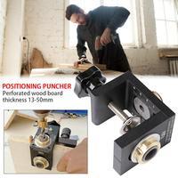 ไม้ 3 In 1 Hole Puncher Locator ขากลม Dowel 08350 2 In 1 เครื่องมือแผ่นเฟอร์นิเจอร์ Puncher-ใน เครื่องเจาะไม้ จาก เครื่องมือ บน