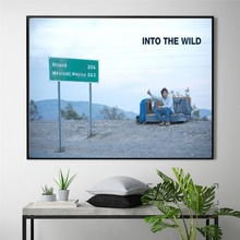 Into The Wild Emile Movie Figure Poster And Print Canvas Art Painting Wall Pictures For Living Room Decoration Home Decor