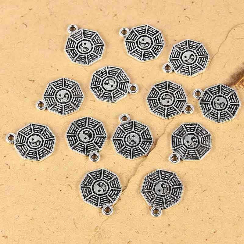 卸売チベットシルバー宗教太一合金ブレスレットのためのネックレスペンダントジュエリーメイキングのために