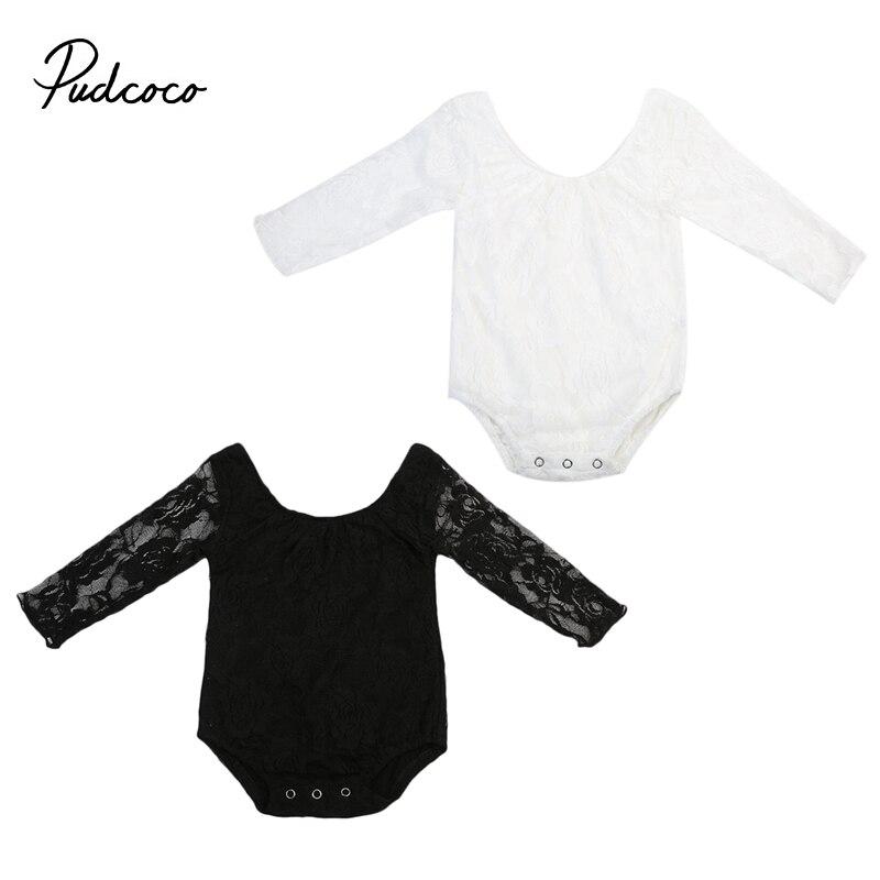 Princess Baby Sunsuit Summer Straps Bodysuit Jumpsuit Floral Girls Romper Lace