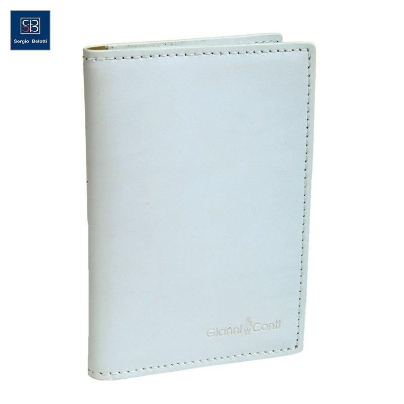 Cover for avtodokumentov Gianni Conti 847463 white multi original view window flip pu leather case cover for uhappy up920