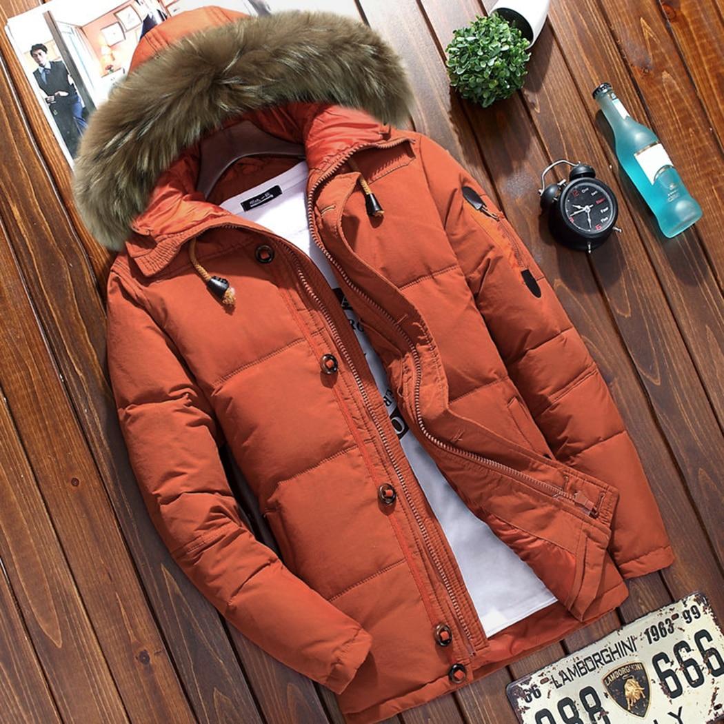 Coton Masculin Fit Rembourré Col Hiver Taille Manteaux La Yellow À De Hommes Black Capuchon Épaissir Chaud sun Pardessus orange Manteau Slim Parka Plus Veste Fourrure D'hiver 6UPwxwqZp