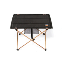 Portable Foldable Folding Table Desk Camping Outdoor Picnic 7075 Aluminium Alloy Ultra light for Backpacking Hiking Fishing Trip