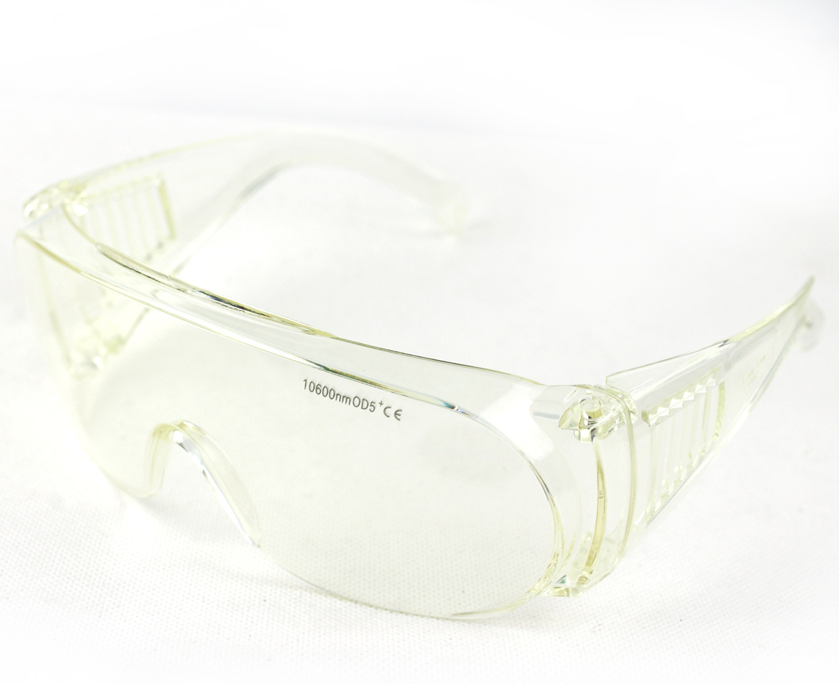 EP-4-6 Protection Laser Goggles Safety Glasses eyewear for 10600nm CO2 OD5 EP-CO2 double frame protection goggles glasses eyewear for co2 carbon dioxide laser 10600nm 10 6um