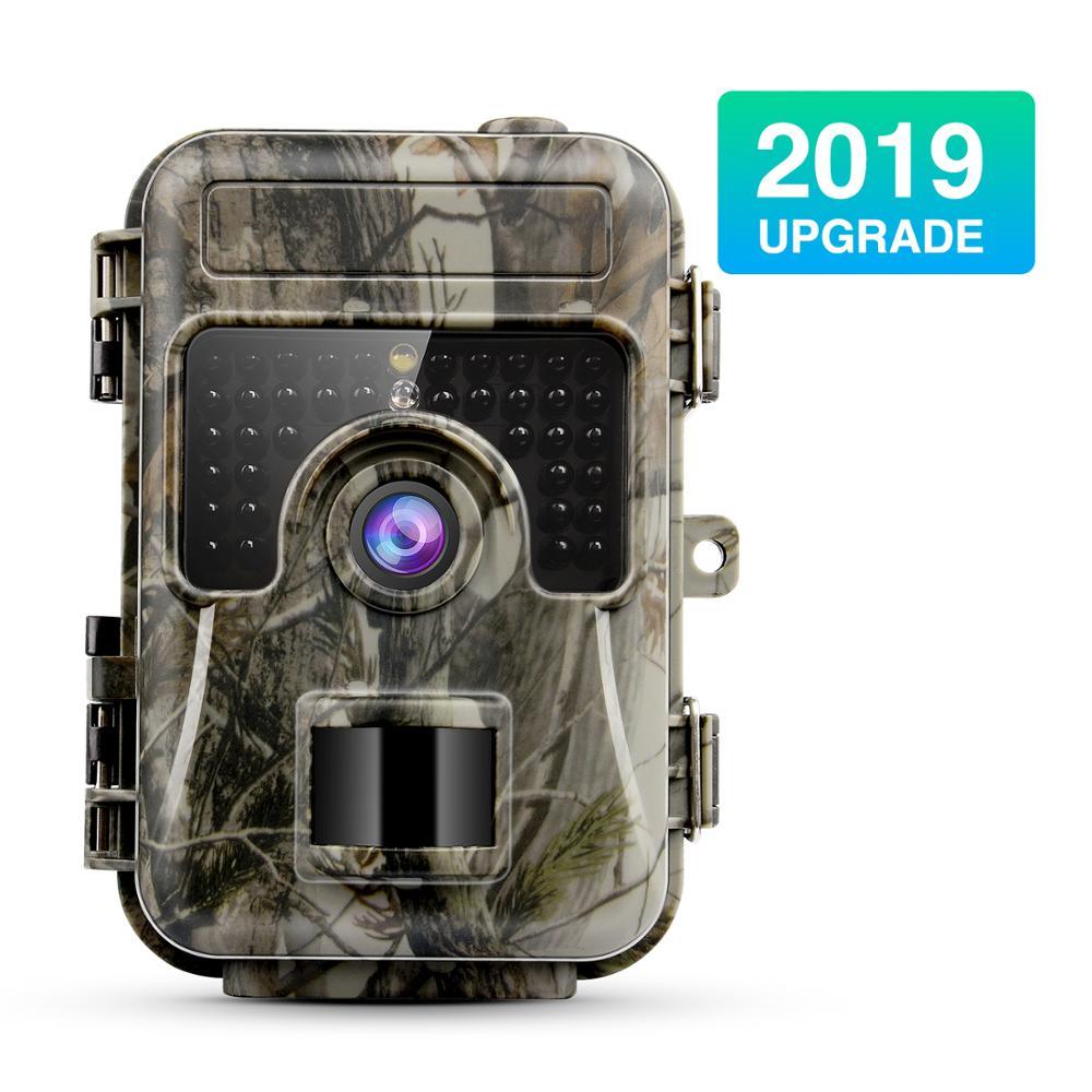 Caméra de chasse de piège de Photo de sentier de la faune 12MP 1080 P HD caméra de sentier de chasse PIR IR LED sécurité activée par le mouvement