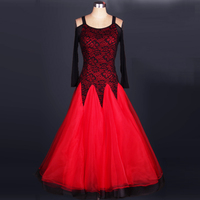 2019 new Ballroom competition dance dress with bracap dancing waltz costume S, M, L, XL, XXL
