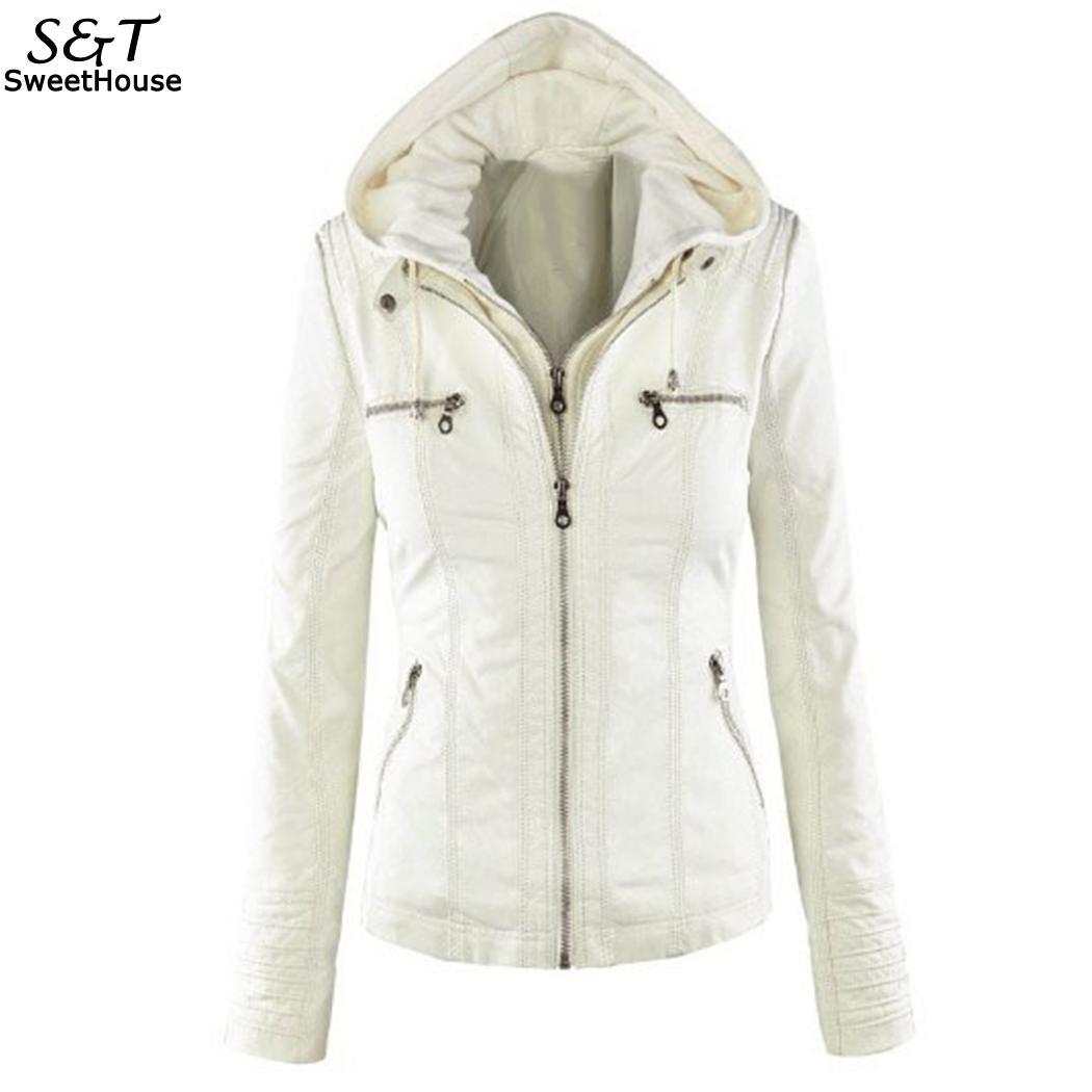 FANALA Winter Faux   Leather   Jacket Women Casual Basic Coats Plus Size 7XL Ladies Basic Jackets Waterproof Windproof Coats Female