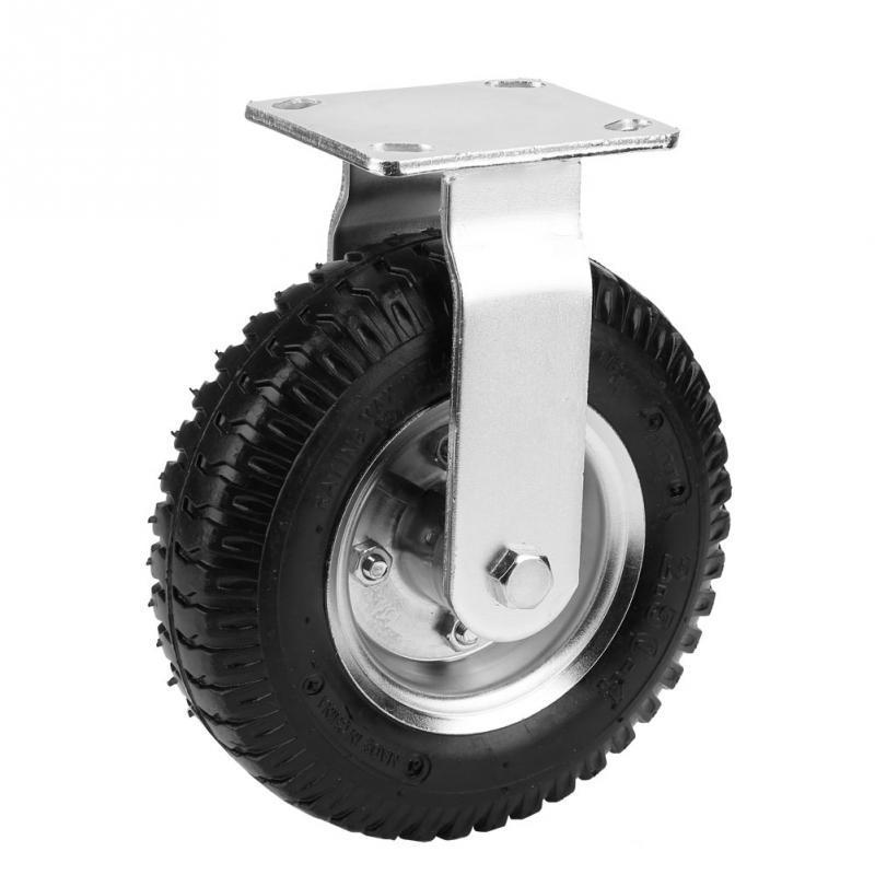 8 Inch Pneumatic Wheel Rubber Caster