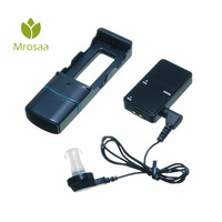 Digital Rechargeable Clip on Hearing Aid Ear Care Kit Anti Bacteria Sound Voice Amplifier Family Elder Health Care Tool