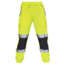 New Arrival Men Joggers Brand Male Trousers Casual Sweatpants Fluorescent Orange Cotton Fitness Workout hip hop
