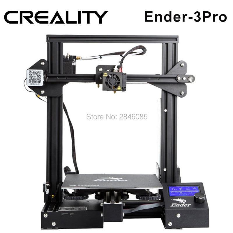 Image 2 - CREALITY 3D Ender 3 Pro Printer Printing Masks Magnetic Pad Plate Resume Power Failure Printing DIY KIT MeanWell Power Supplyfilament sensor3d printerprinter 3d -