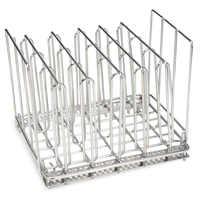 Support Sous Vide en acier inoxydable avec 5 supports de séparation rangement pour cuisine