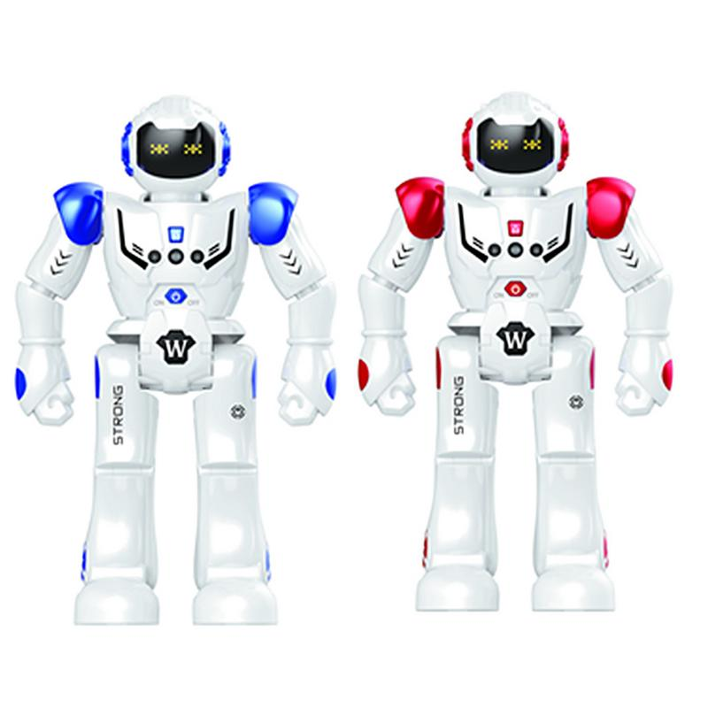 DODOELEPHANT robot USB charging dancing gesture action figure toy robot control remote control robot toy children birthday gift