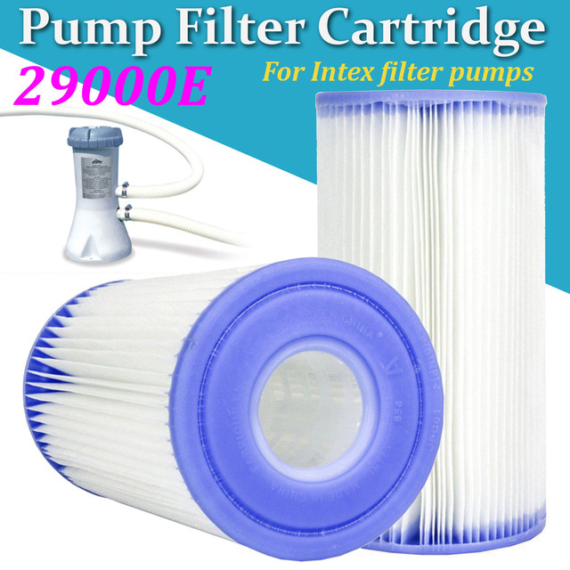 968a4705103 Swimming Pool Pump Replacement Filter Cartridge Parts Baby Inflatable Pool  Keep Clean Tool For Intex Filter Pumps 28604 29000