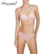 Missomo Women Ladies Sexy Femme Lace Panties Seamless Modis Satin VS Pink Underwear Plus Size XL Micro Lingerie Briefs Panty