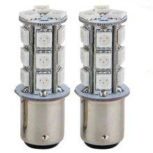 2x1157 SMD 5050 18 Красный светодиодный автомобильный стоп-сигнал лампа