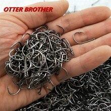 High Carbon Steel Fish Hook Barbed 30PCS