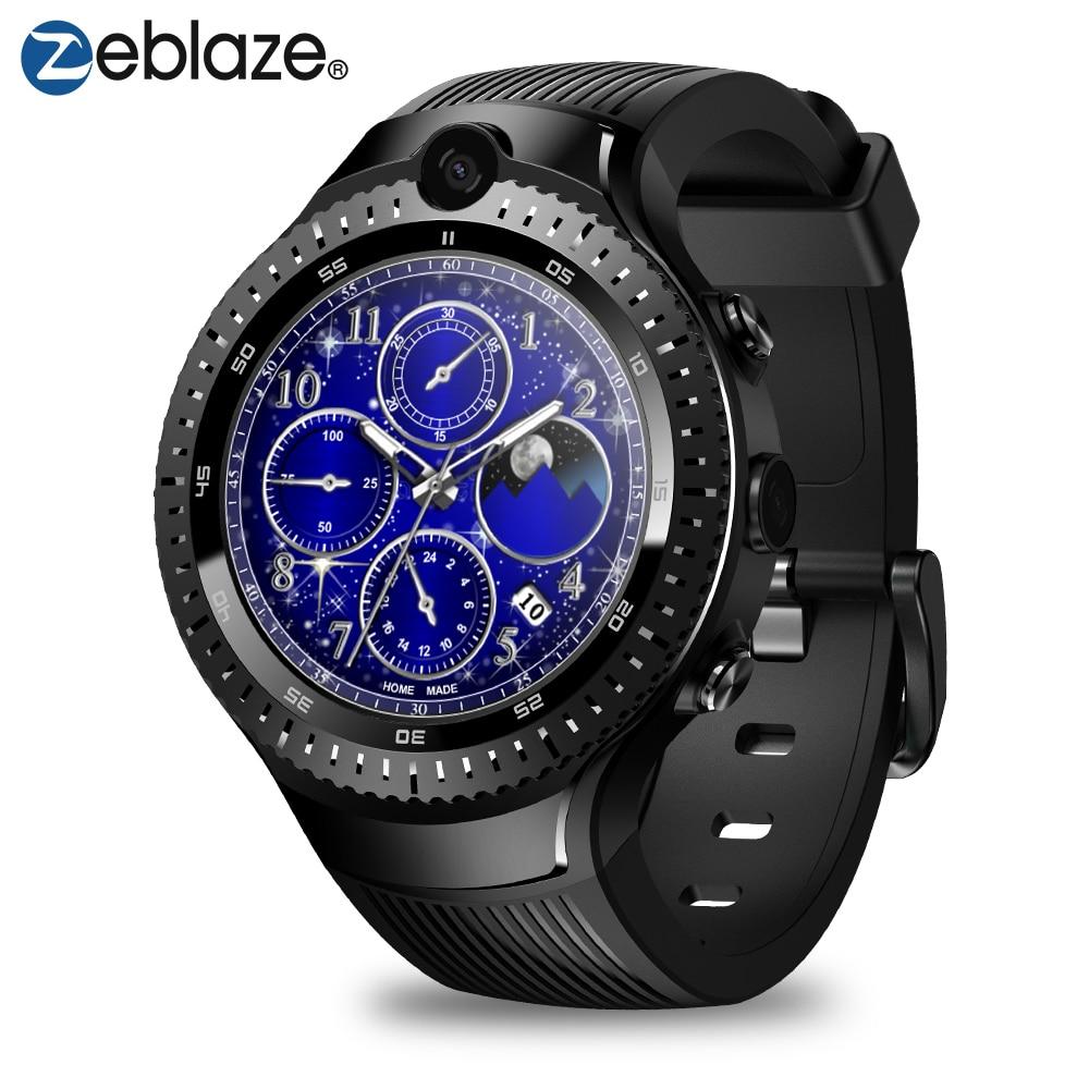 New Zeblaze Thor 4 Dual 4g Smartwatch 5.0mp+5.0mp Dual Camera Android Watch 1.4 Aomled Display Gps/glonass 16gb Smart Watch MenNew Zeblaze Thor 4 Dual 4g Smartwatch 5.0mp+5.0mp Dual Camera Android Watch 1.4 Aomled Display Gps/glonass 16gb Smart Watch Men