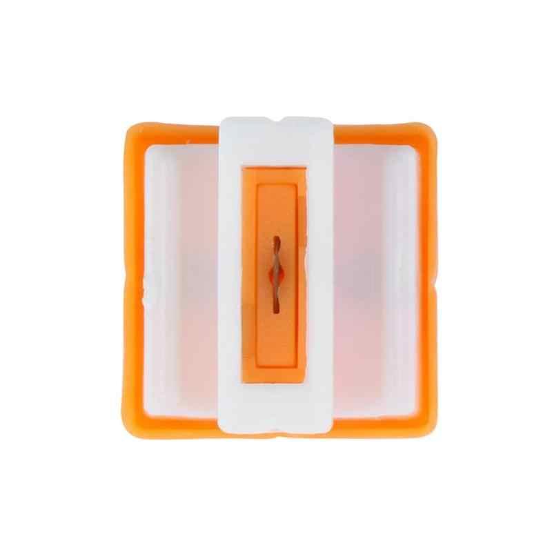 1 PC Triple Track Kertas Pisau Pemangkas untuk Kertas Foto Cutter Guillotine Kartu Pemangkas Penguasa Rumah Kantor Mini Pemotong Kertas