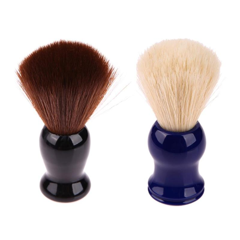 2019 Badger Hair Men's Shaving Brush For Salon Soft Hair Men Shaving Brush Facial Beard Foam Cleaning Brush Shave Tool