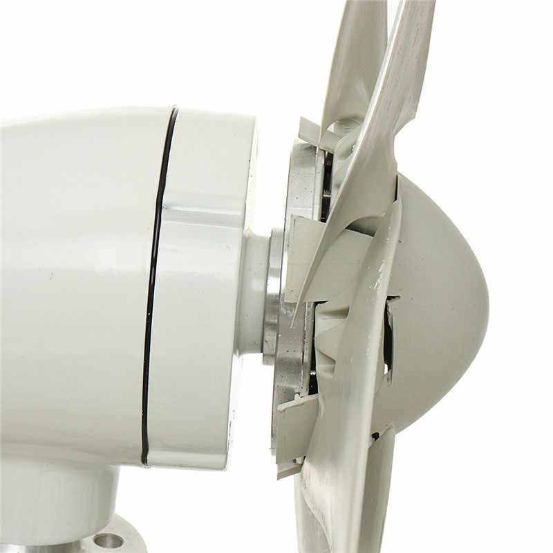 800w 12v 24 V 48 Volt 6 Nylon Fiber Blade Horizontal Home Wind Turbines Generator