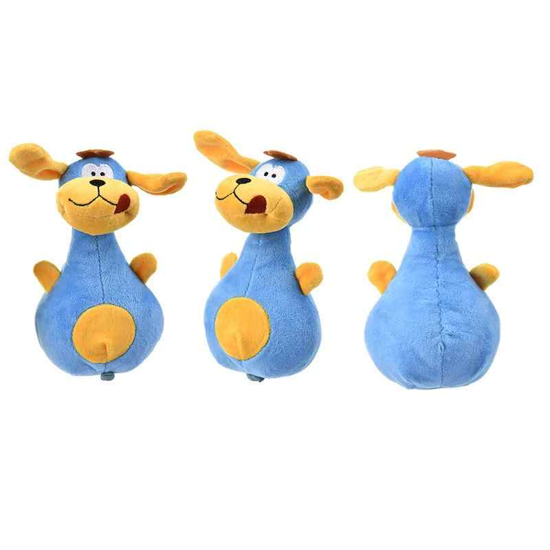 Большие уши собака плюшевые игрушки со звуком разработан быть милой собакой в форме подвеска в виде боулинга ткань из супер мягкого короткого плюша