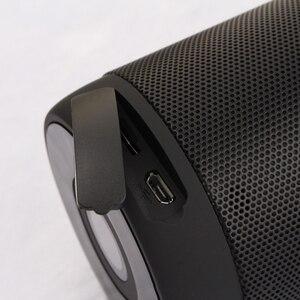 Image 4 - T2 bluetooth baixo alto falante portátil à prova dt2 água ao ar livre sem fio mini coluna caixa alto falante suporte tf cartão fm estéreo caixas de hi fi
