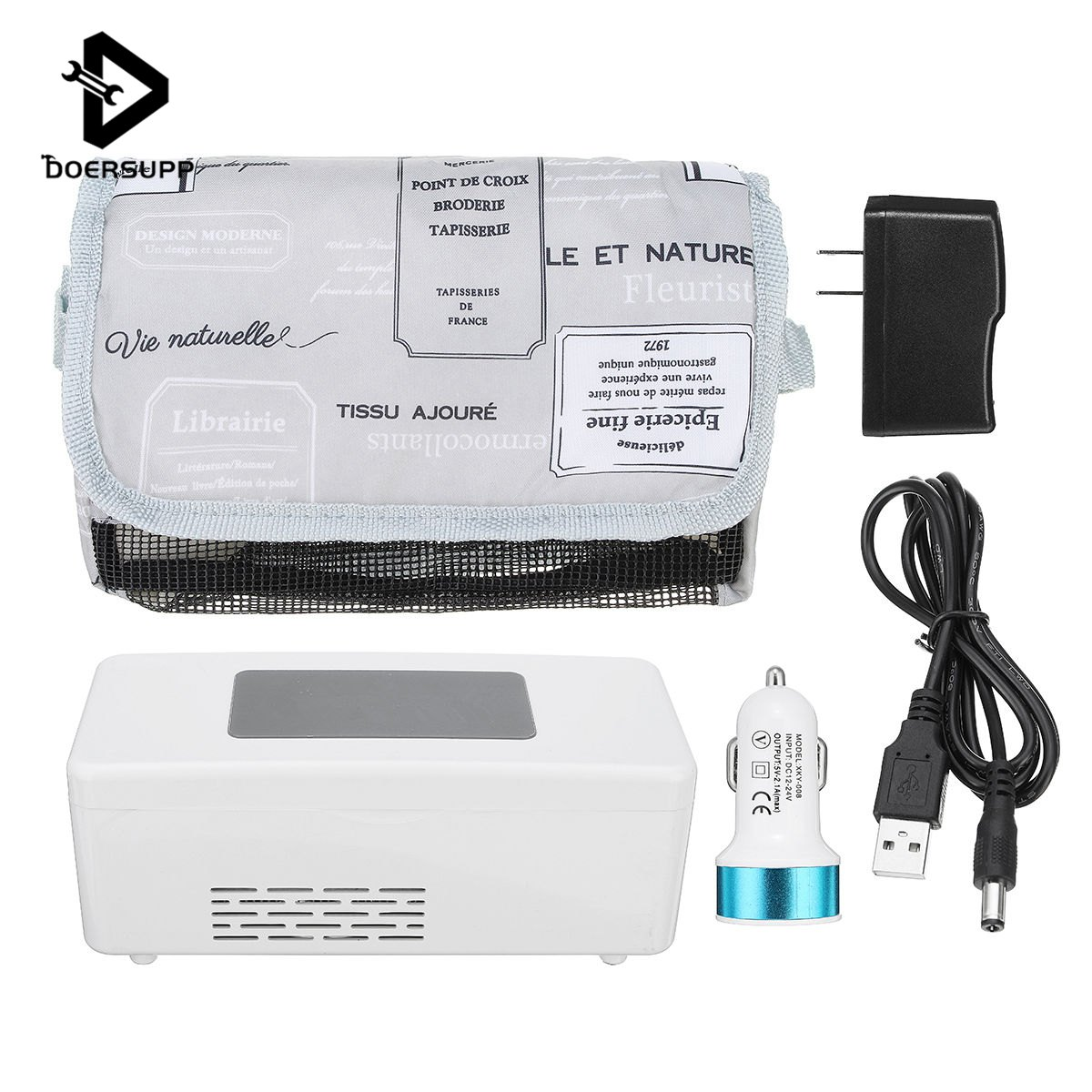 Doersupp Rechargeable Medicine Refrigerators Portable mini insulin cooler box Portable Drug Reefer Car Small RefrigeratorDoersupp Rechargeable Medicine Refrigerators Portable mini insulin cooler box Portable Drug Reefer Car Small Refrigerator