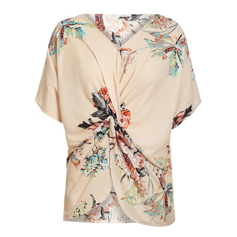 Womens Fashion Floral Print T-Shirts Mother