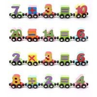 Train Letters Toys 3D Puzzles Kids Children Puzzle Toys Alphabet Wooden Colourful Train Letters Personalized Wooden Toys Oyuncak