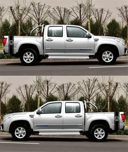 Image 3 - 1 ペア車のステッカー 1500 2500 3500 トラックベッドサイドストライプヘッドビニールデカールステッカーグラフィックスタイリングラップ