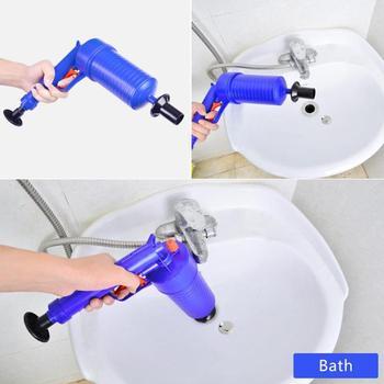 高圧空気電力ブラスター銃強力な手動シンクジャーオープナー用トイレ浴室用シャワー