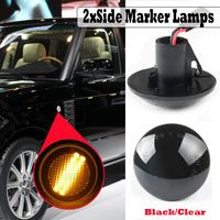 2pcs Dynamic Led Side Marker Wing Repeater Indicator Lights For Land Range Rover L322 New Flowing Side Repeater Light Lamp