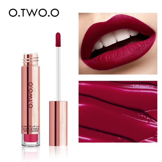O.TWO.O Liquid and Waterproof Long Lasting Matte Lipstick