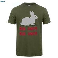 GILDAN  style mens t shirts Monty Python T Runninger Away Holy Grail Funny Slogan 1970S Film Movie Tee Shirts