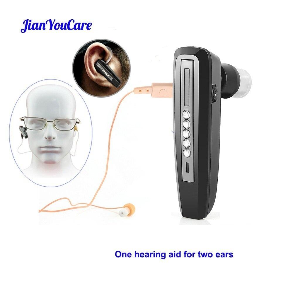 Mini prothèse auditive invisible Rechargeable pour les personnes âgées amplificateur de son d'oreille binaurale aides auditives dispositifs d'outils de soins auditifs sourds numériques