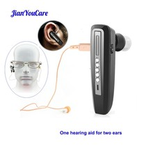 invisible mini Hearing Aid Rechargeable for Elderly Binaural Ear Sound Amplifier Hearing Aids digital Deaf Ear Care Tool Devices все цены