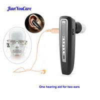 invisible mini Hearing Aid Rechargeable for Elderly Binaural Ear Sound Amplifier Hearing Aids digital Deaf Ear Care Tool Devices